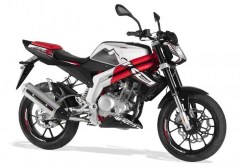 RS3 Naked 125 2013 Blanc