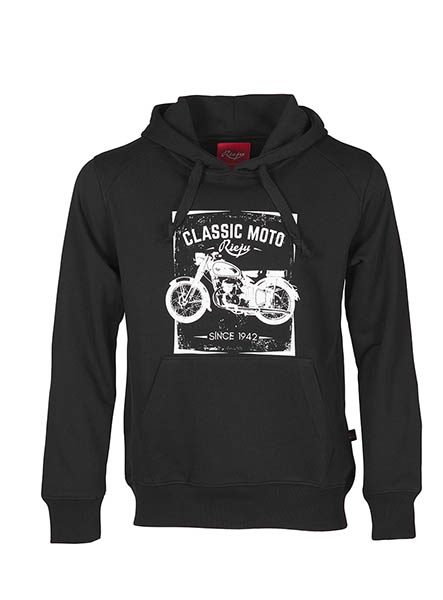 Sweat-shirt Rieju Classic noir